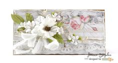 Stunning multilayered card with lots of paper flowers made with The Rose Avenue collection. Paper Flowers, Decorative Boxes, Wedding Day, Rose, Cards, Studio, Collection, Pi Day Wedding, Pink