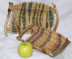 Learn how to drill small spike horn or four point matching white tail deer antlers to weave this beautiful tray basket that everyone will admire. Description from ginasbaskets.com. I searched for this on bing.com/images