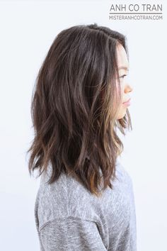 NEW YEAR, NEW DO! Cut/Style: Anh Co Tran • IG: @anhcotran • Appointment inquiries please call Ramirez|Tran Salon i