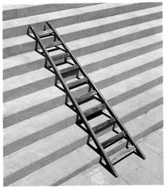 """Photographer Chema Madoz: """"What we see is never what it seems"""" – Crazy Hippo Conceptual Photography, Conceptual Art, Mobile Photography, Art Photography, Poema Visual, Black N White Images, Light And Shadow, Stairways, Art And Architecture"""