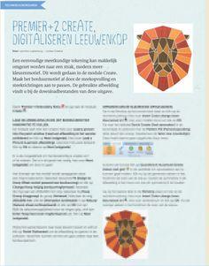Digitaliseren van een Leeuwenkop in Premier+2   Editie 69 voorjaar - 2020