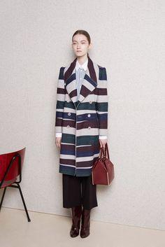 Carven Pre-Fall 2015 Fashion Show - Kasia Jujeczka