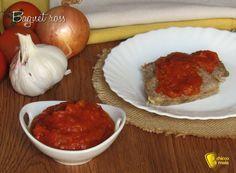 Bagnet ross: salsa per bollito al pomodoro Tzatziki, Guacamole, Pesto, Barbecue, Beef, Recipes, Mousse, Food, Canning
