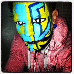 TNA Impact Zone - 13 Dec 2012 Wwe Jeff Hardy, Cool Face, War Paint, Face Paintings, Instagram Posts, Boys, Baby Boys, Senior Boys, Sons