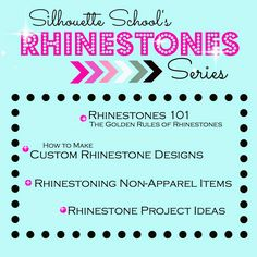 Silhouette Rhinestone 101 Tutorial (Designer Edition Not Needed).the first in the Silhouette School Rhinestone Series Silhouette Cutter, Silhouette Curio, Silhouette Vinyl, Silhouette Cameo Machine, Silhouette America, Silhouette Portrait, Silhouette Files, Silhouette Cameo Tutorials, Shilouette Cameo