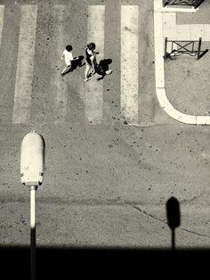 Alessandro Zangrilli ~LIne-vertical Minimal Photography, Urban Photography, Aerial Photography, Black And White Photography, Street Photography, Perspective Photography, Black And White Pictures, Black White, Film Stills