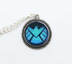 Marvels Agents Of SHIELD  Pendant Necklace ,Fan Jewelry, Great Gift on Etsy, $9.99