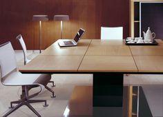 Square wooden Meeting table MR 1.8   Square Meeting table - JMM José Martínez Medina