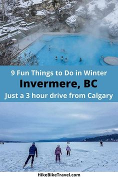 9 fun things to do in Invermere, BC - just 3 hours from Calgary #Invermere #ColumbiaValley #Calgarygetaway #winterfut #outdoors #BC #skating #skiing