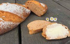 Tomatenbrot - Backen mit Christina Dessert Cake Recipes, Desserts, Baked Potato, Bread, Baking, Ethnic Recipes, Food, Baking Tips, Pastries Recipes