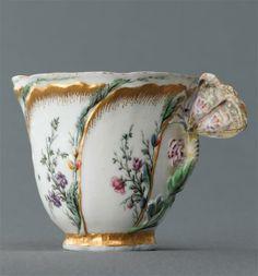 Porcelaine de vIncennes vers 1750