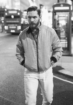 Tom Hardy by Greg Williams - 2014