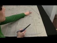 In order to sew more complicated projects, its important to know how to cut out a commercial pattern. When pulling out the pattern pieces, it can be very overwhelming but this video shows you how to figure out which pattern pieces to cut out for your project. Also included is how to read to the valuable information found on the pattern pieces. O...