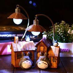 Anime Totoro LED Push-button Night Light - Daily Otaku Things