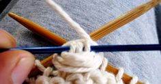 A simple stitch that produces a playfully textured fabric. The cluster stitch