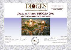Special award Diogene 2013 for my haiku