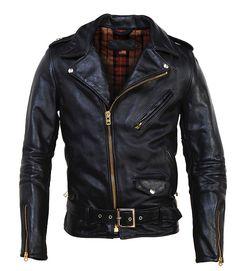 Perfecto Asymmetrical Motorcycle Jacket by Schott - Silodrome