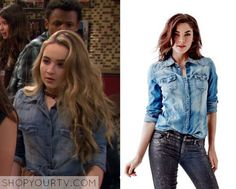 Girl Meets World: Season 2 Episode 22 Maya's Denim Shirt