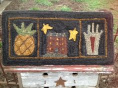 ☆Plumrun Creek☆: Folk Art Rug