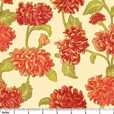 Mums the Word Metallic, Sunkissed 2682M-12  by Deborah Edwards for Northcott Fabrics