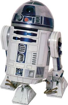 Star Wars Classic R2D2 Peel & Stick Giant Wall Decal (RMK1592GM)