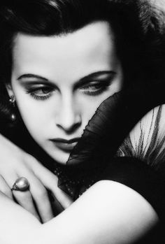 "vintagegal: ""Hedy Lamarr photographed by George Hurrell, 1938"""