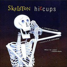Skeleton-Hiccups: This is great read aloud. Toddlers will love as you hiccup through the story. Halloween Books For Kids, Halloween Themes, Halloween Crafts, Halloween Activities, Halloween Apps, Halloween Stories, Preschool Halloween, Halloween Music, Halloween Parties
