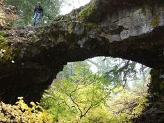 AGCT Event Aug. 7-9 Near Natural Lava Bridges  Less than a mile away from the entrance of Guler Ice Cave are a series of natural bridges formed when most of the lava tube collapsed except for a few strong spots. The bridges are only a short walk from a small parking area and include several hiking trails that you can use to thoroughly explore the area. #ewls #womencavers #speleology  Visit our Facebook events page to stay up-to-date on event info…
