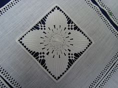 Cilaos- famous embroidery, but incredibly pricey!