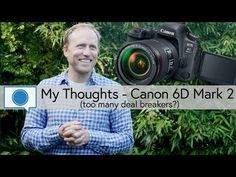 The New Canon 6D Mark II  Hands-On Previews and Thoughts  Recently Canon announced the release of their update to the 6D its popular full frame camera body with the Canon 6D Mark II. Its getting some mixed reviews  lets see what these reviewers thought:  PhotoRec TV  too many deal breakers?  Things many consider this camera to be lacking include:  No 4K video capability  No headphone jack (but there is one for a microphone)  Flash sync speed of only 1/180th of a second  Only one memory card…