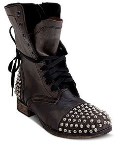 Shoe Trend: Rock out! STEVE MADDEN #studded #shoes #booties BUY NOW!