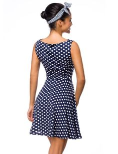 Dot Polka Sommerkleid - Kleider - Vintage-Style - Ars-Vivendi