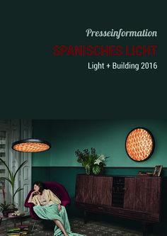 Spanisches Licht  Light+Building 2016 #LB2016 #lightandbuilding2016 #lightandbuilding #lightingspain #lamps #lighting