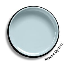 Resene Mystery is a delicate blue, pastel and pretty, but quixotic and changeable too. Duck Egg Blue, House Colors, Mystery, Delicate, Pastel, Exterior, Colour, Cool Stuff, Bedroom