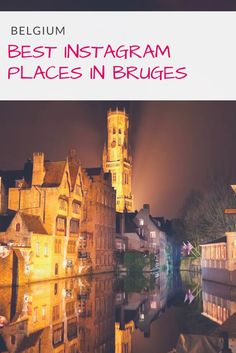 Bruges is a must when traveling to Belgium. It's the picture/photo perfect town and find here the top Instagram places in Bruges. Only a day trip from Brussels. |Travel Photography | What to see in Bruges| #bruges #brussels #belgium #instagram