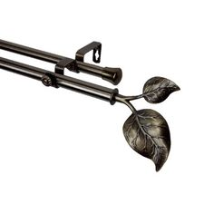 Rod Desyne Modern Ivy Double Curtain Rod and Hardware Set & Reviews | Wayfair