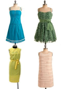 How to wear & identify vintage dress styles for spring