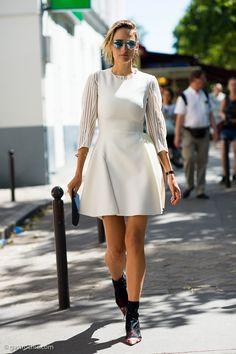 LeeLee Sobieski at Dior Couture FW2015