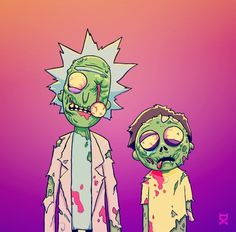 Rick and Morty Zombies, Halloween