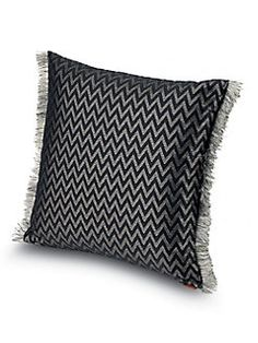 Missoni Home - Side Fringed Cushion