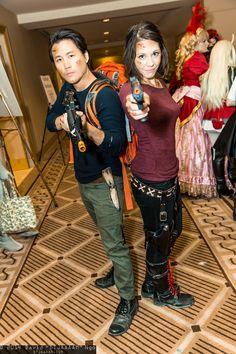 Glenn Rhee and Maggie Greene #PMX2014 #DTJAAAAM