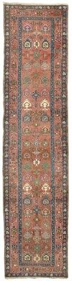 TABRIZ RUNNER  NORTH WEST PERSIA, CIRCA 1900    14ft. x 3ft.4in. (427cm. x 102cm.) I Christie's Sale 7219
