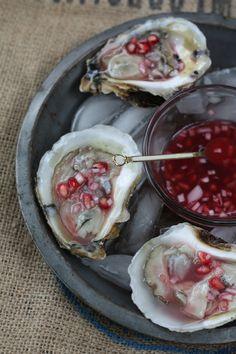 Pomegranate Mignonette Recipe | Aftertaste by Lot 18