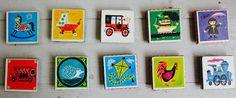 magneten van memorykaartjes