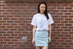 Model : Park Su Jin (YG Kplus) wearing MILKBBI