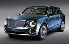 Bentley EXP 9F and the new class of super SUVs - possible hybrid implementation