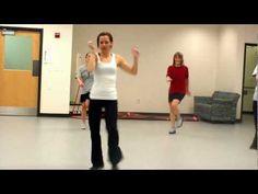 Tambourine Zumba Fusion Dance class