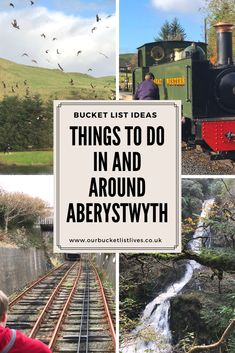 Things to do in and around Aberystwyth West Wales. Family friendly ideas for days out in the area Family Weekend, Family Days Out, Travel With Kids, Family Travel, Days Out In Scotland, European Travel Tips, Travel Europe, Days Out With Kids, Visit Wales