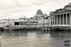 L'Agora du Vieux-Port en 1961 - Ville de Quebec Old Quebec, Quebec City, Chute Montmorency, Chateau Frontenac, Le Petit Champlain, Excursion, Canada, Newfoundland, Pacific Ocean