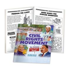 Black History Activity Book - Civil Rights Movement